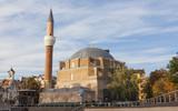 SOFIA, BULGARIA - OCTOBER 08, 2017: Djamilia mosque, builg in 1576 - 188610273