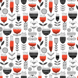 Seamless floral vector pattern - 188636449
