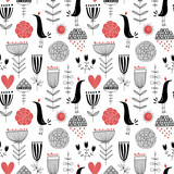 Seamless vector pattern - 188636488
