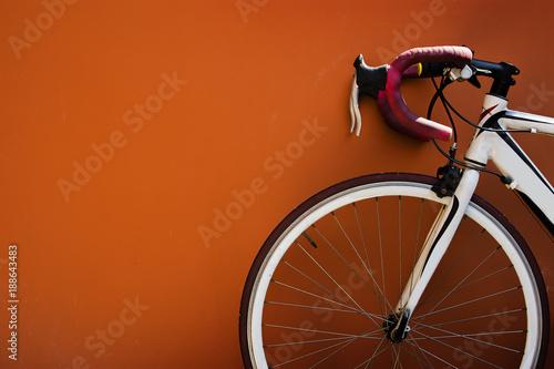 Fotobehang Fiets Parking bike for relax.