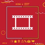 Camera Roll, photographic film, camera film symbol icon - 188644078