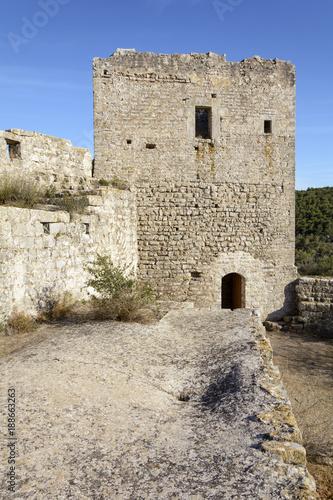 Poster Castillo de Pulpis. Santa Magdalena de Pulpis. Castellon. España