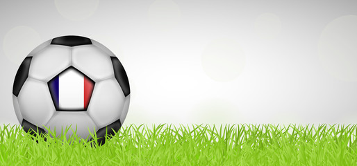 Fußballwiese - Fußball Frankreich