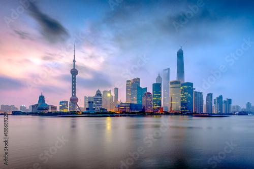 Foto op Canvas Shanghai Shanghai, China from the Bund