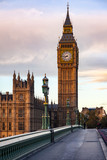Fototapeta Big Ben - Elizabeth Tower or Big Ben Palace of Westminster London UK © Dmitry Naumov