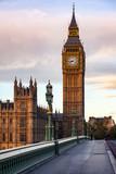 Fototapeta Big Ben - Elizabeth Tower or Big Ben Palace of Westminster London UK © Dmitry Naumov