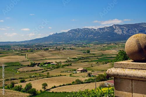 Ausblick auf die Sierra Cantabria