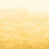 yellow gold watercolor texture background, hand painted - 188709498