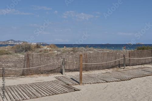 Ibiza, playa en Bossa