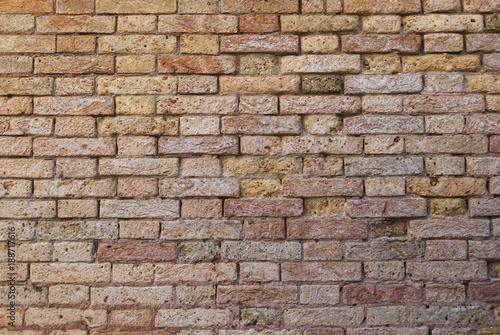 In de dag Stenen Brown brick background