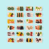 Healthy vegetables assortment - 188723201