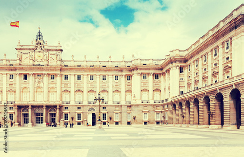 Foto op Canvas Madrid Royal Palace of Madrid, Spain
