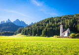 The Church of San Giovanni in Dolomiti Region - italy