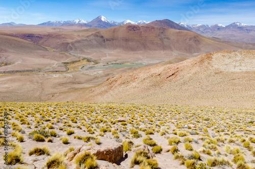 Fridge magnet atacama desert mountains
