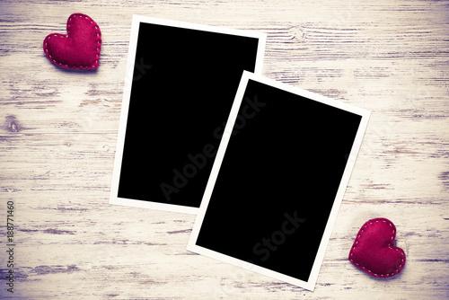 Foto Murales Black photo frame
