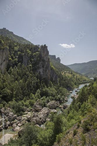 Papiers peints Kaki Gorges du Tarn