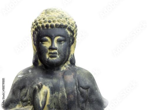 Fotobehang Boeddha Buddha isoliert