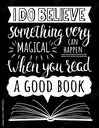 plakat-o-ksiazkach-wierze-ze-cos-bardzo-magicznego-moze-sie-wydarzyc-gdy-czytasz-dobra-ksiazke-inspirujacy-cytat-wektorowa-reka-rysujaca-ilustracja