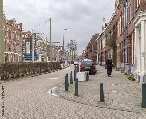 Poster Rotterdam city view of Rotterdam