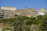 Panoramic view of Lugnano in Teverina (Umbria, Italy)