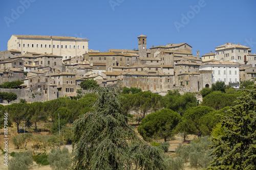 Foto Murales Panoramic view of Lugnano in Teverina (Umbria, Italy)