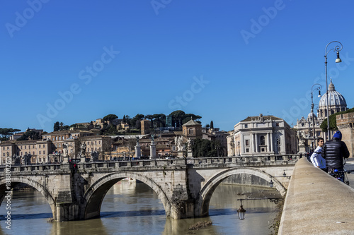 Foto op Canvas Rome italy, rome,