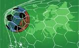 Soccer / Football design template,free copy space, vector - 188811607