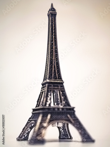 Tuinposter Eiffeltoren Mini-Eiffelturm