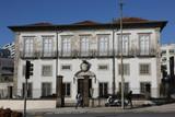 La façade du palais de Terenas à Porto, édifié à la fin du XVIIIème siècle et aujourd'hui propriété du diocèse - 188822226