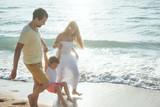 Happy family outdoors - 188836484