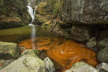 Góry Karkonosze - Wodospad Szklarki