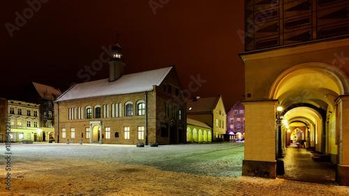 Fotobehang Bruin Olsztyn-stare miasto
