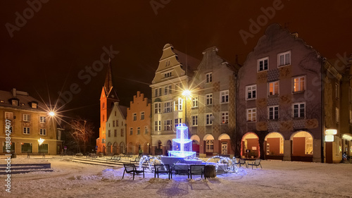 Olsztyn-stare miasto © Janusz Lipiński