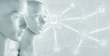 Artificial intelligence concept - Internet, network, globalization - 188849408
