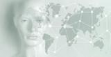 Artificial intelligence concept - Internet, network, globalization - 188849679