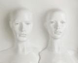 Two plaaster heads of mannequin - masterpiece - 188849823