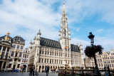 BRUSSELS, BELGIUM - August 27, 2017: Grand Place in brussel, Belgium. - 188852899