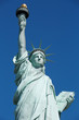 Statue of Liberty in New York, sunny day