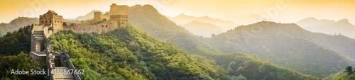 Leinwanddruck Bild The Great Wall of China