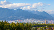 Vancouver City and North Shore Mountains