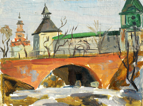 winter-landscape-russian-city-zagorsk-and-monastery-oil-on-canvas-illustration