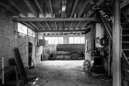 Foto op Canvas Oude verlaten gebouwen Urbex