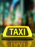 Taxi sign background - 188927813
