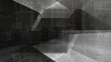 Abstract industrial dark concrete background