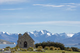 Lake Tekapo at new zealand