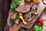 Barbecue - Grillen - Fleisch - Catering - Buffet - 188943257