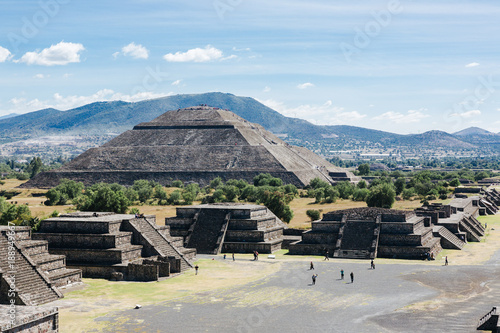 Teotihuacán archeological site in Mexico © Dennis