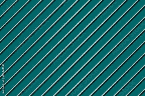 Materiał do szycia Green blue striped seamless background