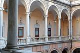 Genova, Liguria, Italia,  cattedrale e palazzi storici - 188969847