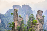 Landscape of Zhangjiajie. Located in Wulingyuan Scenic and Historic Interest Area in china.